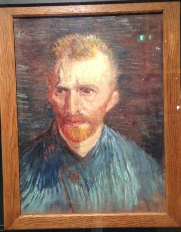 Autoretrato de Van Gogh