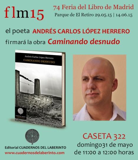 Andrés Carlos Feria del Libro 2015