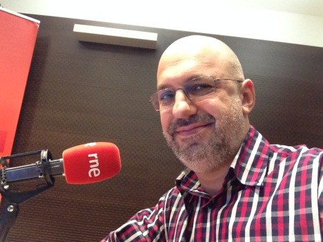 Andrés Carlos en RNE