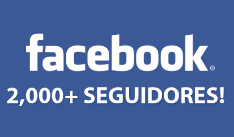 2000 seguidores Facebook