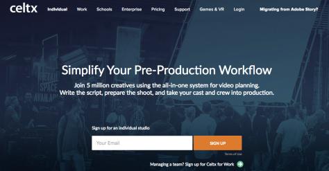 Celtx Programa Gratuito Para Escribir Guiones Audiovisuales La